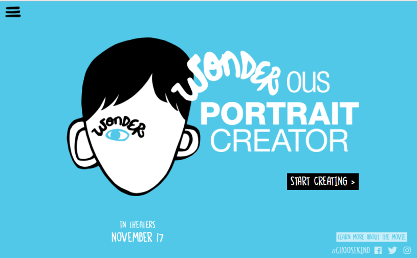 Book Cover Ideas For Wonder : Wonder ous portrait creator quick guide diary of a