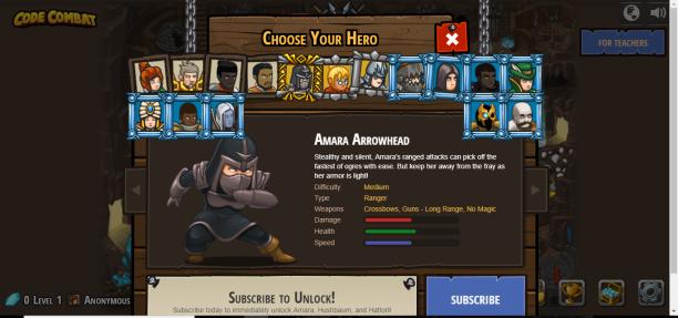 Select Character